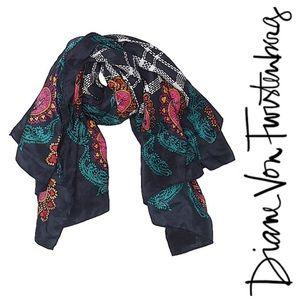 Diane Von Furstenberg Color Authority Silk Scarf